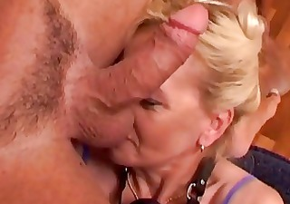 cum eating mature blonde ablaze...