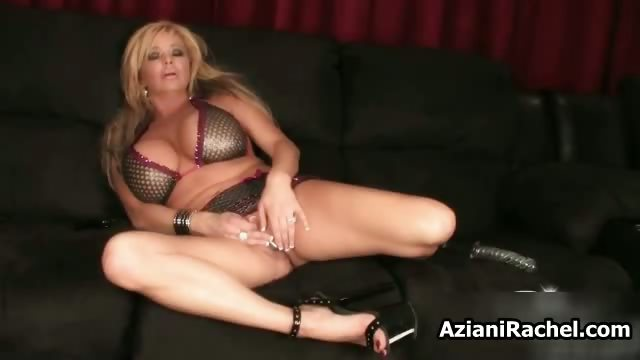busty blonde milf goes crazy sex-toy part2